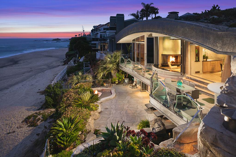 "What could be considered the most recognized home in Laguna Beach and a trophy to prized architect, Brion Jeannette? This is the opportunity to own the ""Rock House,"" a curated piece of real estate art and a staple of the community. Learn more and see inside this property."
