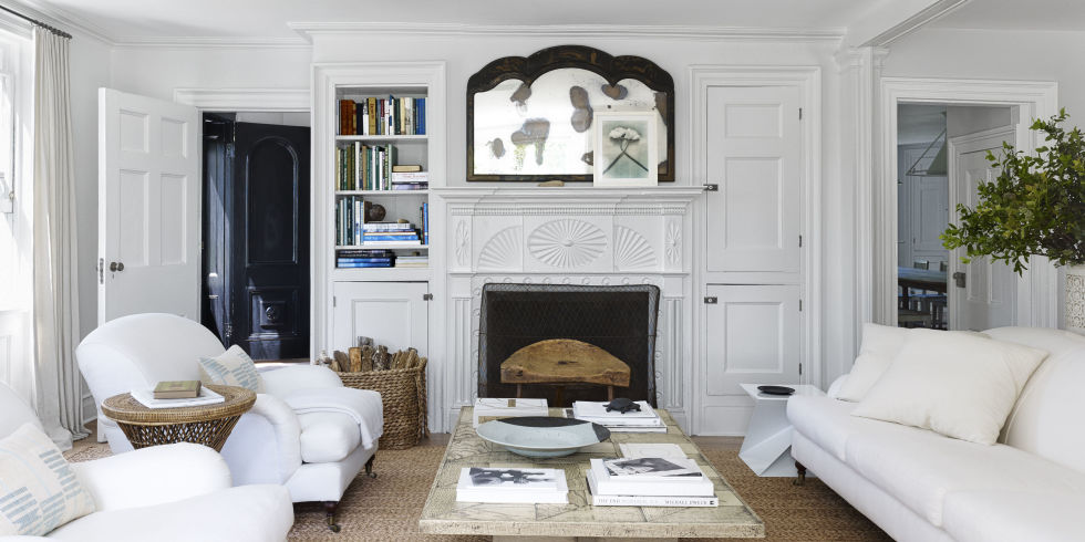 White Couches In Living Room - Rize Studios