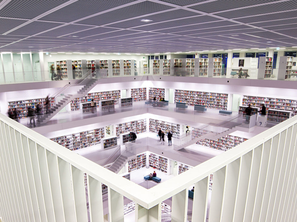 The Stuttgart City Library in Stuttgart, Germany was built in 2011, making it one of the newer libraries on this list. The library's state of the art technologies and design cost €79 million, or a whopping $86 million. The library is located in Mailänder Platz, which is predicted to be a popular neighborhood in years to come.