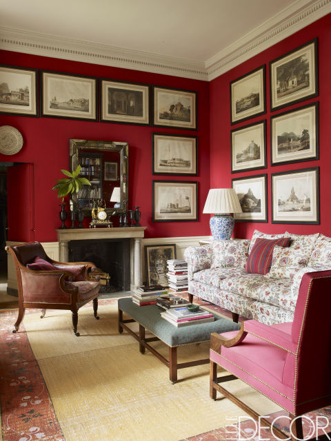 Red Living Rooms : 10 Rooms with Red Walls - Red Bedroom and Living Room Ideas