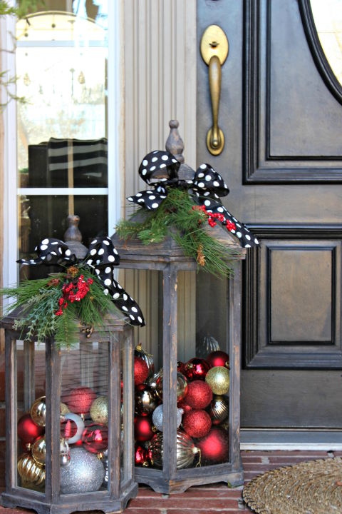 10 Outdoor Christmas Decoration Ideas Stylish Outside