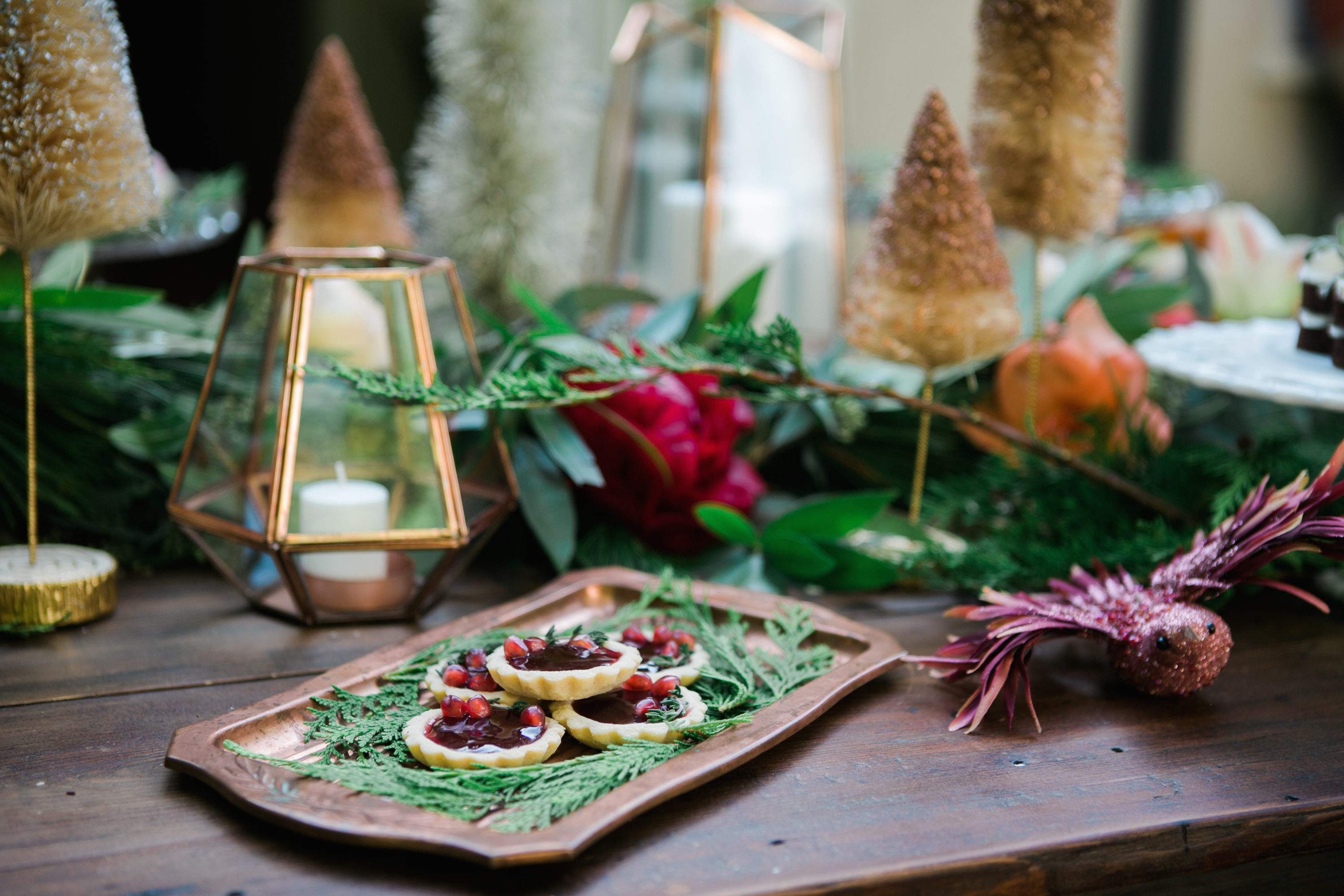 15 easy christmas table decorations ideas for decorating for Ideas for christmas dinner