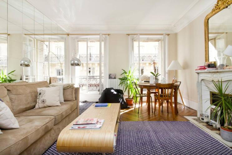 парижской квартире Детали, которые вы найдете в каждой парижской квартире 1477498213 1446235912 dining area
