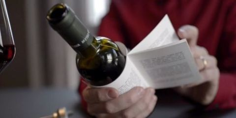 Wine Bottles Wrapped in Short Stories Let You Read While You Drink