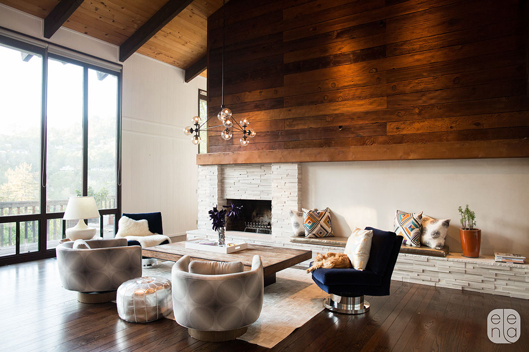 40 Modern Living Rooms For Stylish Holiday Entertaining