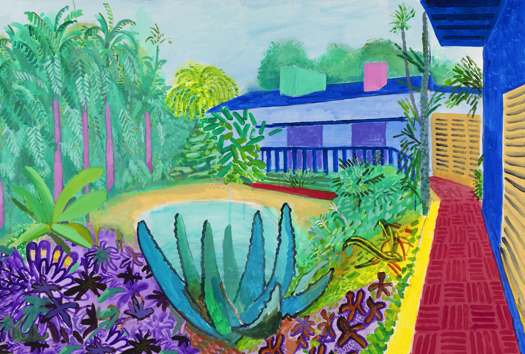 David Hockney Lends Artistic Wisdom Painting Tips From A Pro