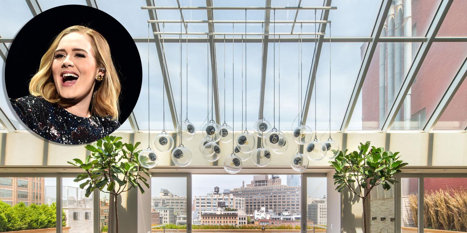 Adele Rented Deron Williams Huge Nyc Apartment Adele S