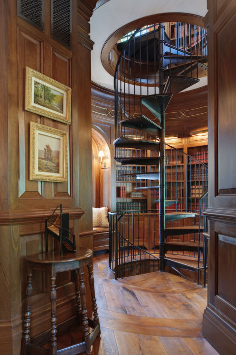Wood Paneled Library: 35 Best Home Library Ideas