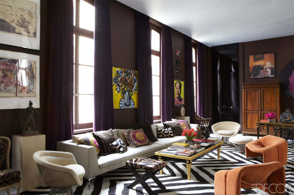 sig bergamin paris apartment colorful paris apartment. Black Bedroom Furniture Sets. Home Design Ideas