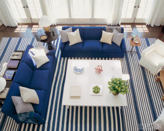 These rooms prove stripes, flags, and boats really can be chic.
