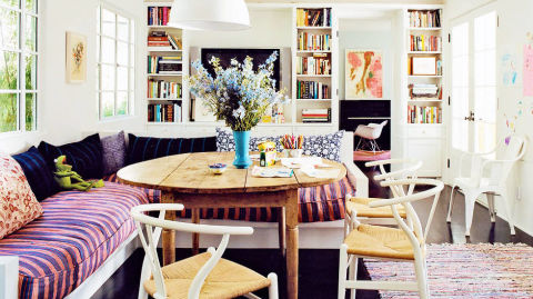 Amanda peet home fashionable rooms of the week february for David james kitchen designs