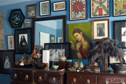 Home and abroad john robshaw 39 s new york city home - Interior furniture warehouse buffalo ny ...
