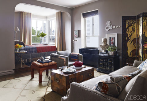 Images Of Living Rooms Painted With Waynesboro Taupe