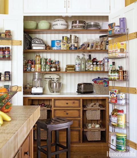 30 Brilliant Kitchen Island Ideas That Make A Statement: Smart Kitchen Storage Ideas