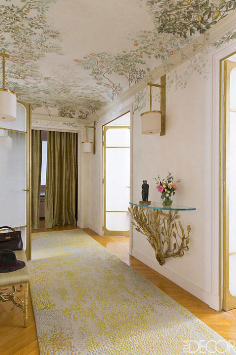 Decorative ceilings cool painted ceiling ideas for Cool painted ceilings