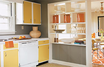 How to paint old cabinets for Best way to refinish kitchen cabinets