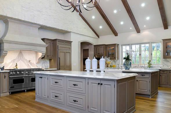 Franse Keuken Inrichting : Celebrity Kitchens Celebrity Real Estate