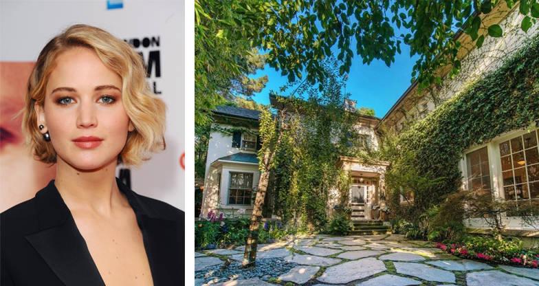 Jennifer Lawrence Beverly Hills Home Jessica Simpson