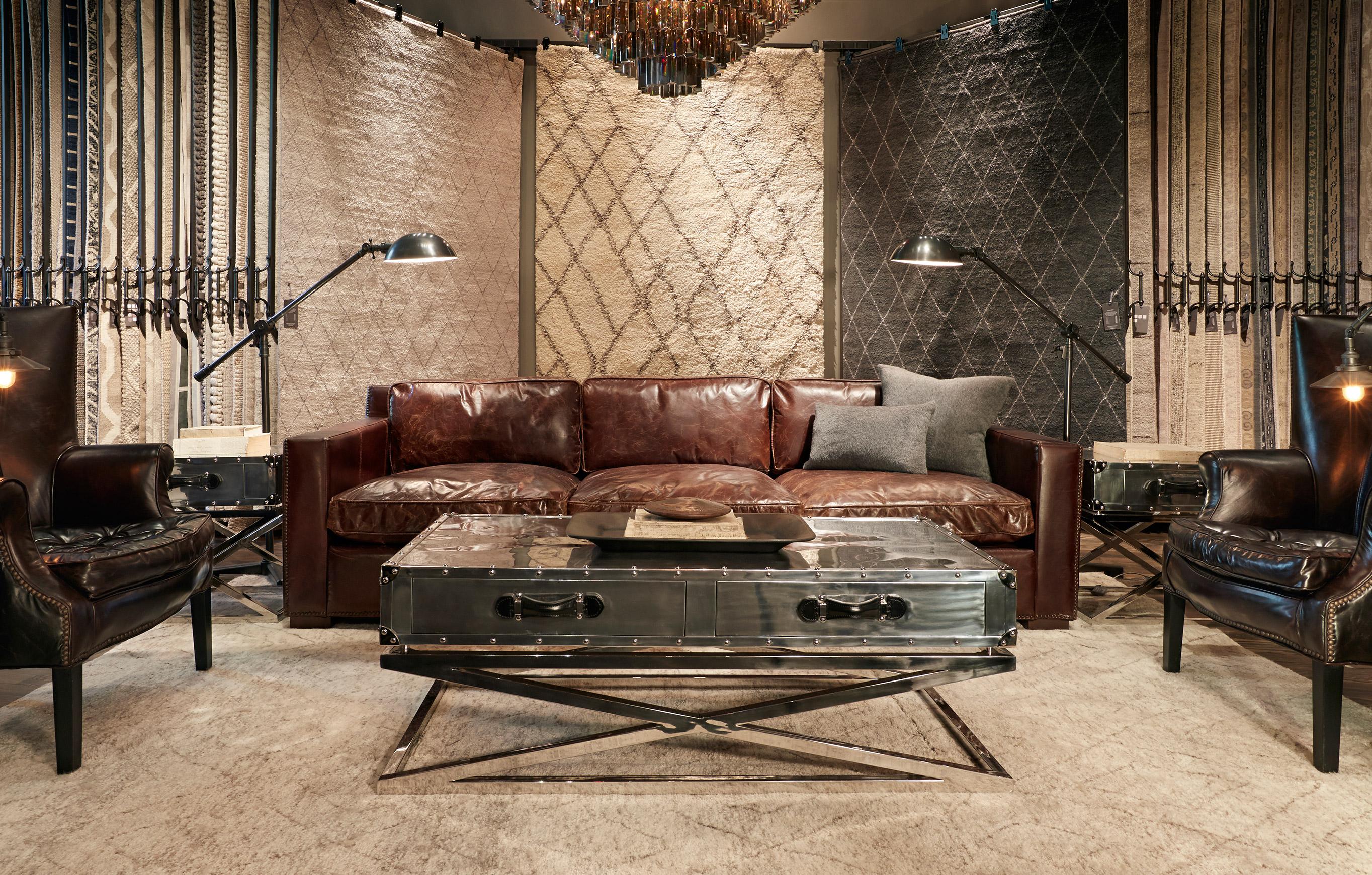 How to buy a vintage rug vintage rug shopping for Restoration hardware rugs on sale