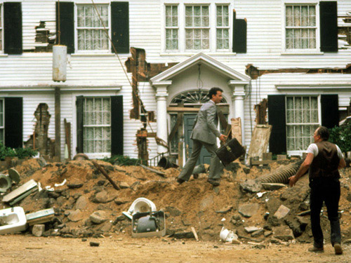 We think it's safe to say that the 1986 comedy, starring Tom Hanks and Shelley Long, is the funniest home renovation movie ever. The 1890s Long Island mansion that starred as the hopelessly dilapidated house that the onscreen couple struggle to repair was owned by publisher Eric Ridder during the filming of the movie. The current homeowners, Rich and Christina Makowsky, bought the 5.4-acre estate in 2002, and they recently told the New York Times that their experience renovating the home was similar to the one depicted in the movie. Now that it's been completely overhauled, the property is on the market for $12.5 million. You can see photos of the house as it looks now here.