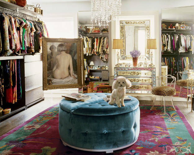 Inside Celebrity Walk In Closets Closet Photos
