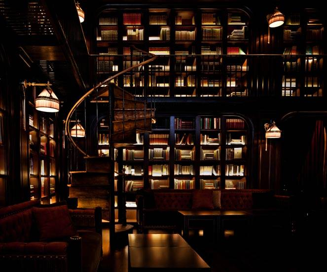 The NoMad's library may technically be a bar, but there's no reason not to grab a drink and peruse their extensive collection of books, which spans two levels connected by a spiral staircase imported from the south of France.