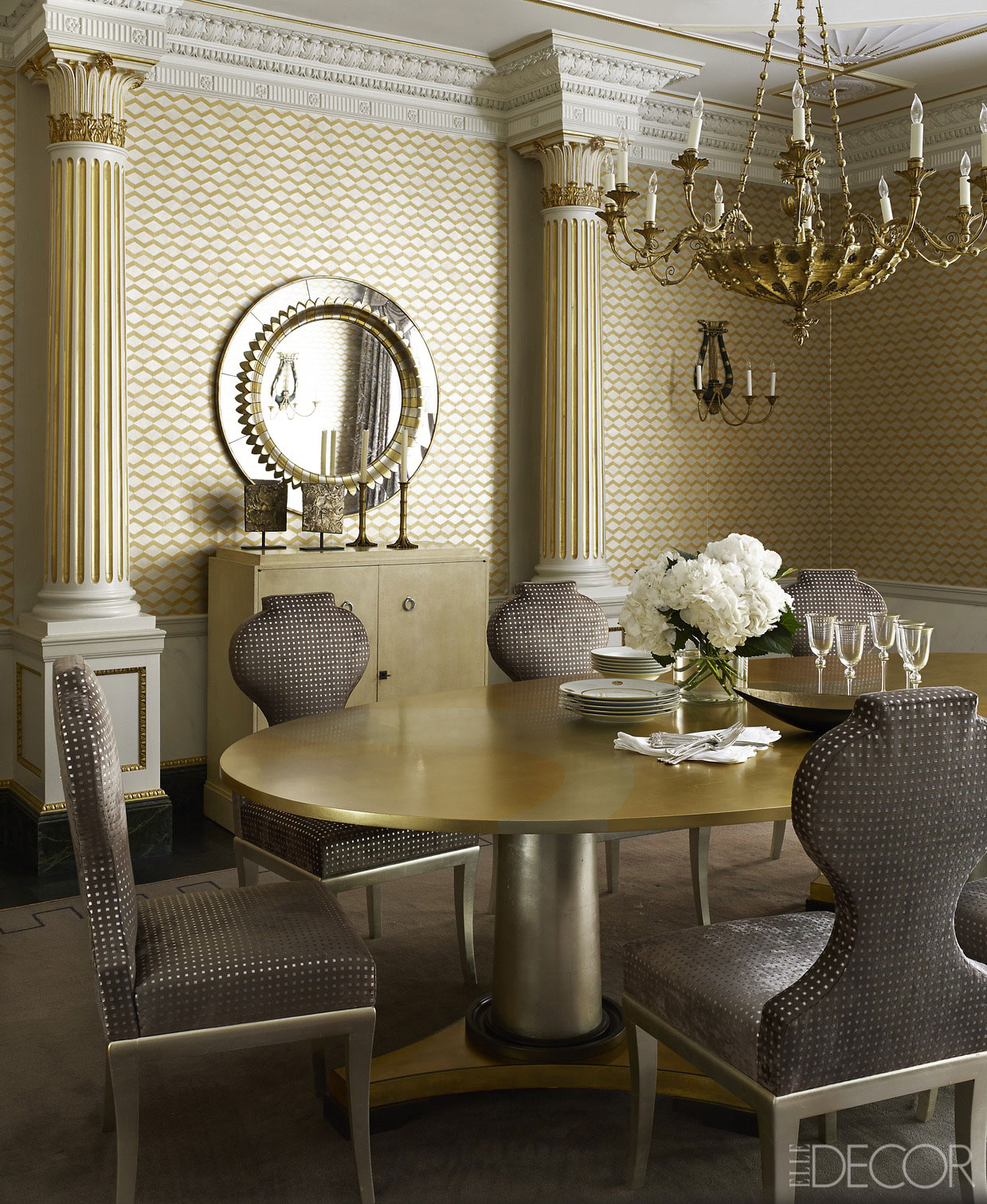 Friday Finds Working Trends Into Your Home Decor: 14 Gilded Rooms That Will Inspire You To Go For The Gold