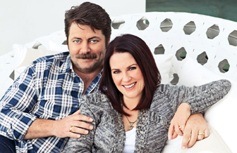Nick Offerman Megan Mullally Wedding