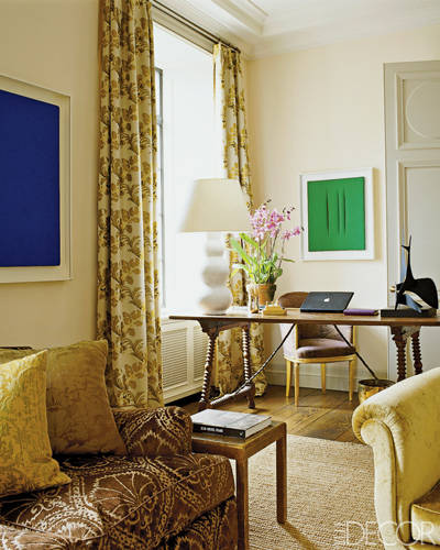 Green Living Room Ideas In East Hampton New York: Family House Of Aerin Lauder