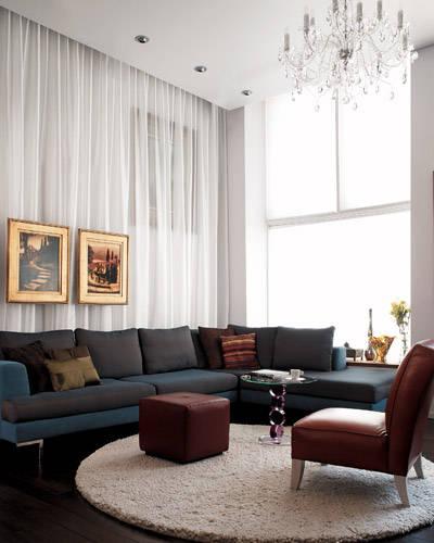 Interior design ideas glamour making it modern book for Modern glamour interior design