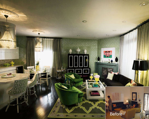 The swankiest house in hollywood on for Celebrity interior designers