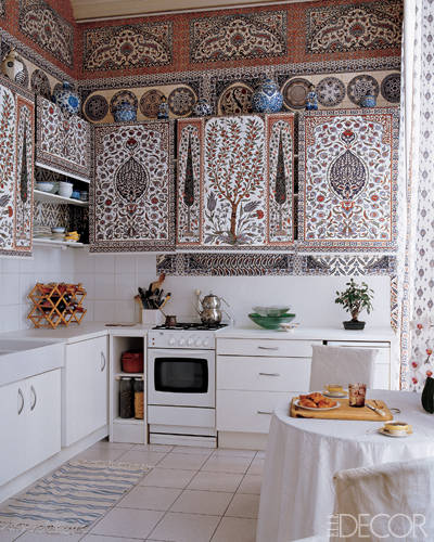 Patterned Wallpapers And Tiles