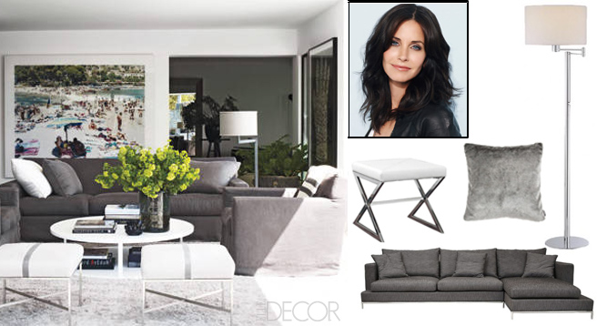 courteney cox home courteney cox curates joss main sale