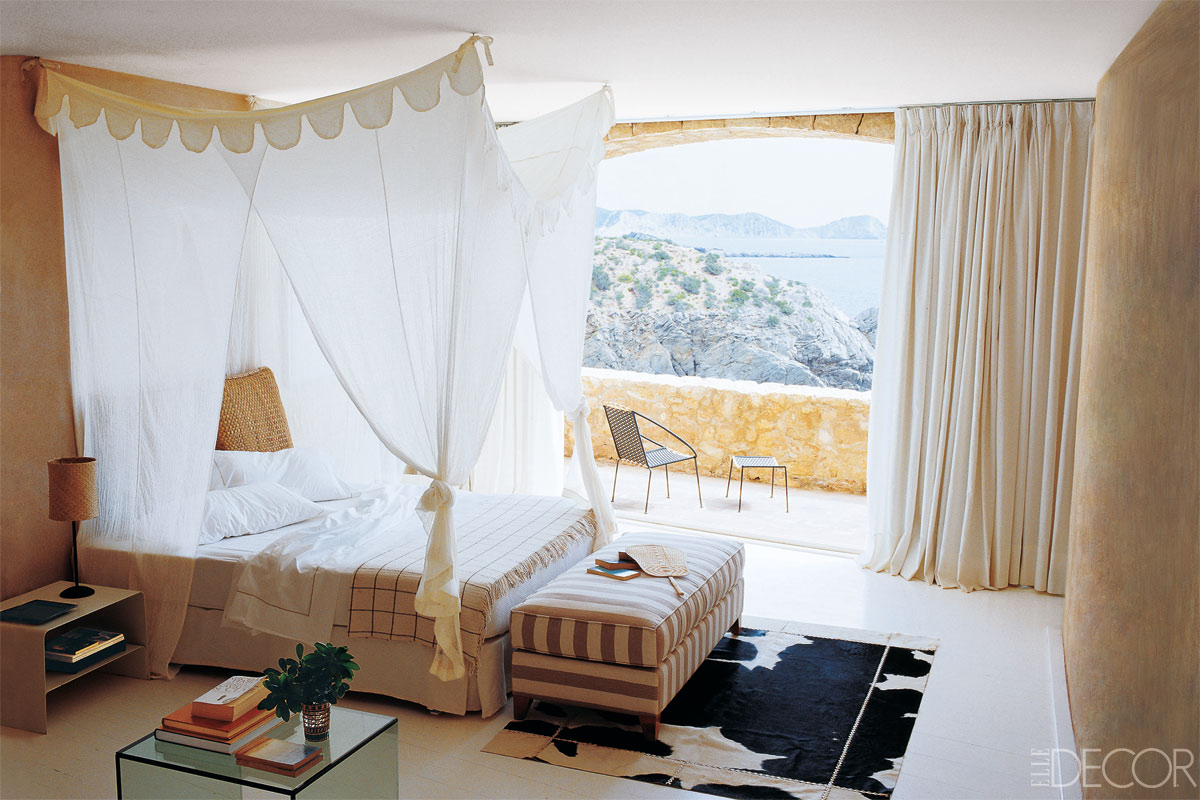 Best summer bedroom ideas decorating your room for summer - Elle decor bedrooms ...