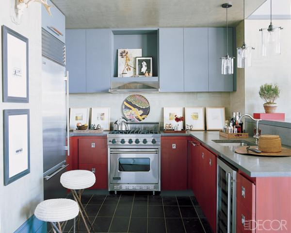 Best designer kitchens beautiful kitchen pictures elle for Kitchen ideas elle