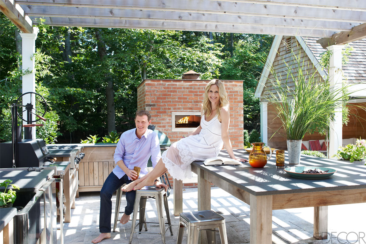Bobby Flay Stephanie March Hamptons House