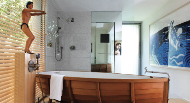 One of a kind bathrooms unique bathroom design for Different bathroom ideas