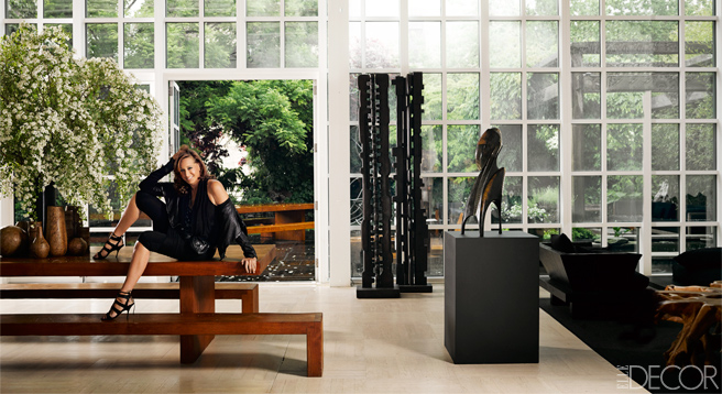 Donna Karan S New York Loft Fashion Designers At Home
