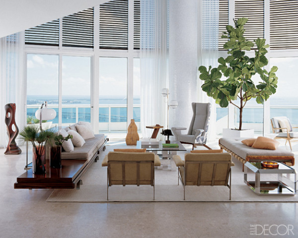 Beachy living rooms summer living rooms for Elle house