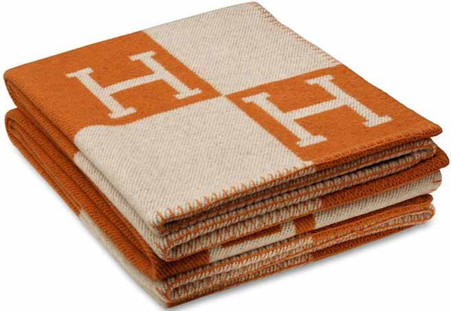 Birkin For The Home Hermes Avalon Blanket