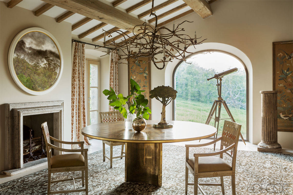 12 of the most beautiful rooms in italy for Most beautiful dining rooms