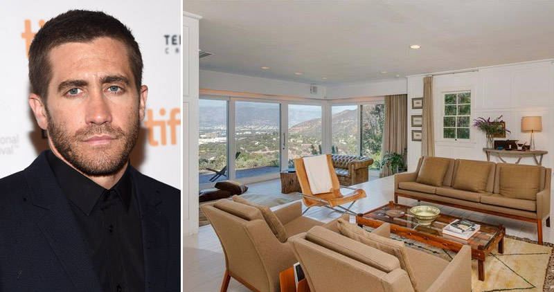Jake Gyllenhaal Hollywood Hills House