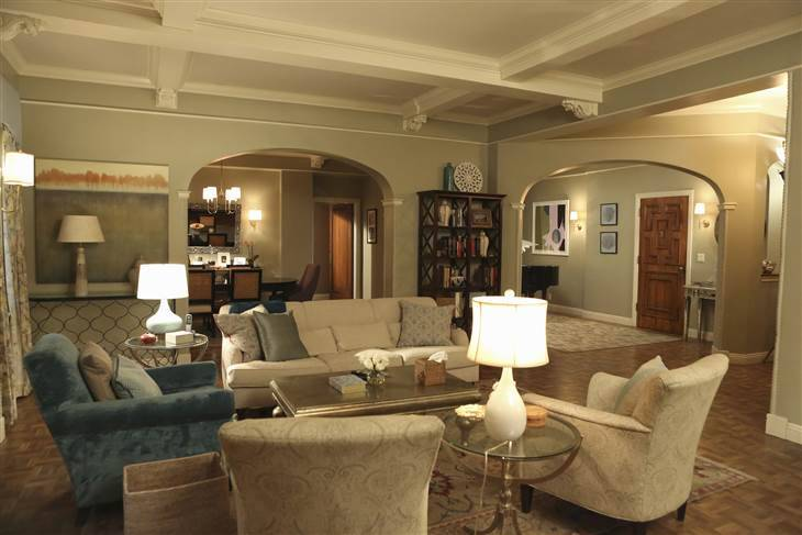Get The Look Scandal Olivia Pope S Apartment