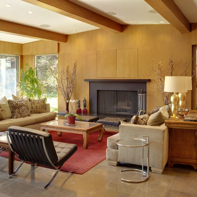 Mid Century Modern Home Interior Design House Design Plans