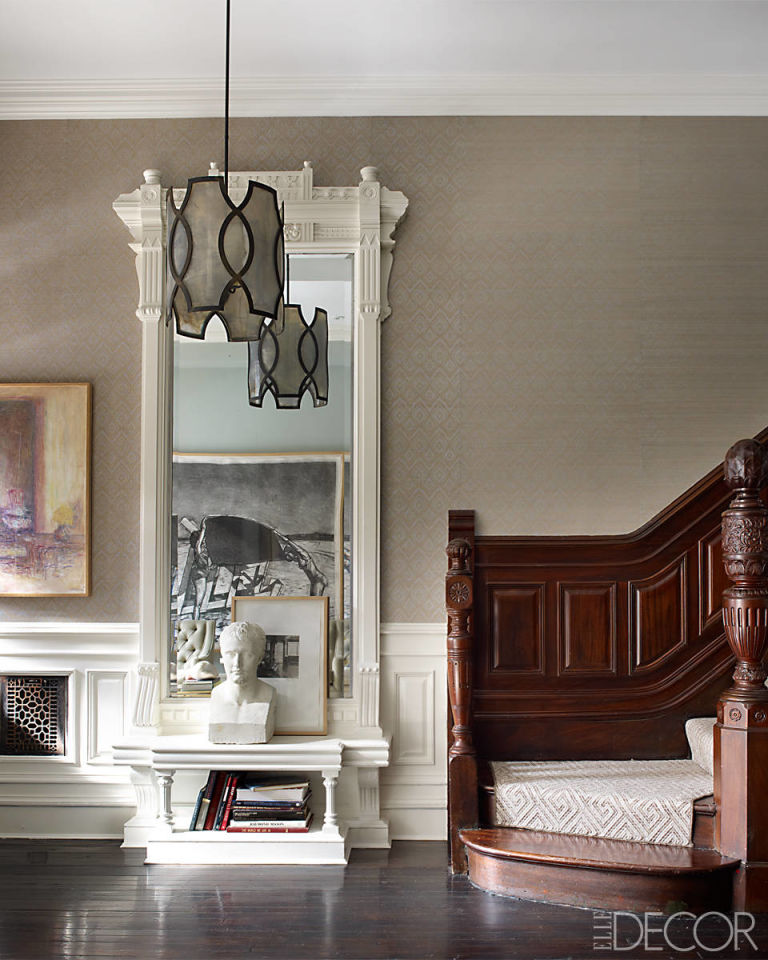 Brownstone Interior Design: Historic Harlem Brownstone -Sheila Bridges Harlem Home