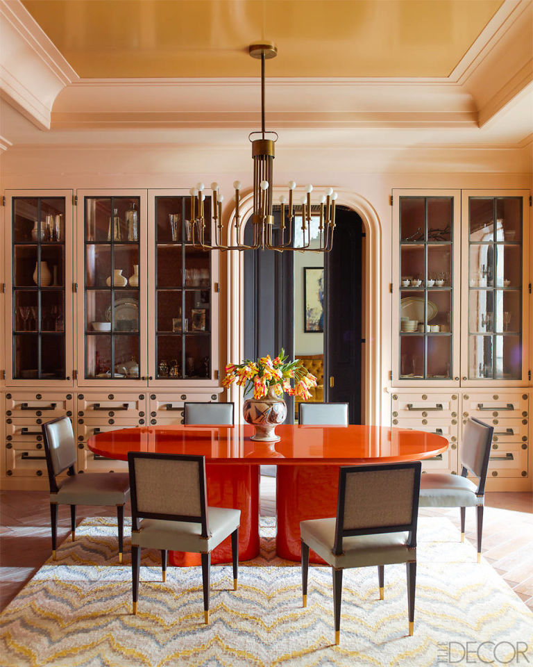 Dining Rooms From Elle Decor: Steven Gambrel Manhattan Home