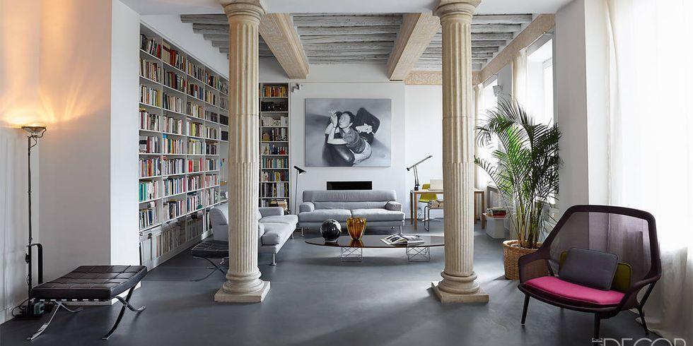Modern roman interior design images for Apartment design rome