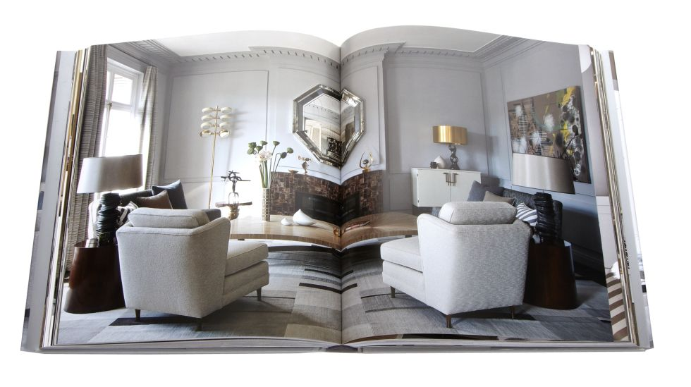 interior design coffee table books | table and chair and door