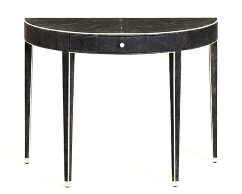 Demilune tables hallway demi lune console tables - Table demi lune pliante ikea ...