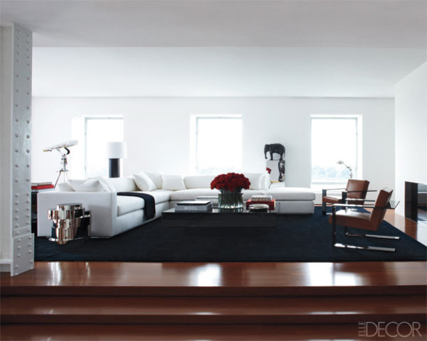 White living rooms for Ralph lauren living room designs